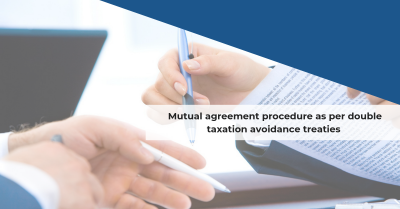 Double taxation avoidance