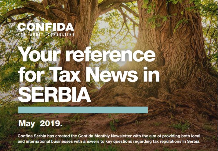 Maj 2019: Vaša referenca za poreske vesti u Srbiji