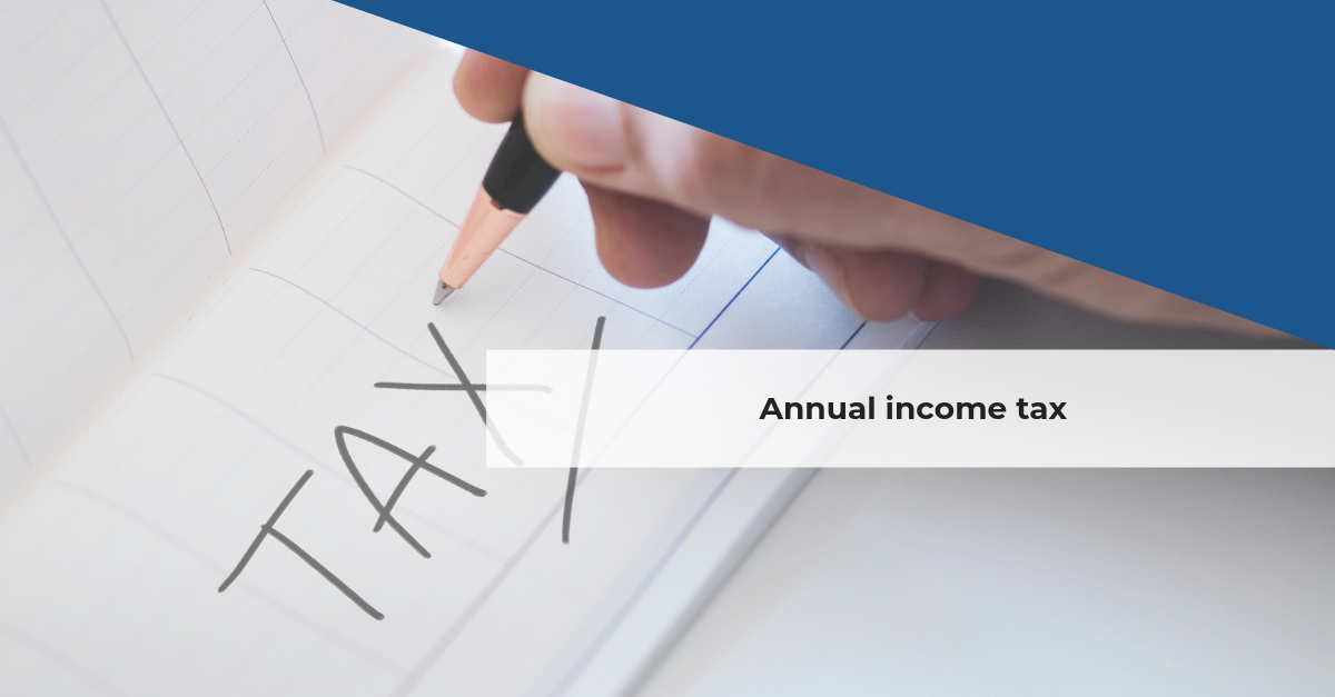 annual income tax