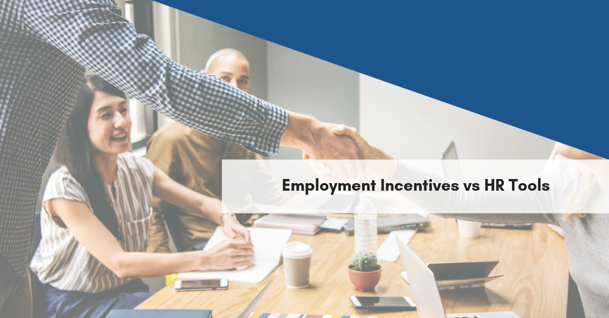 Employment Incentives vs HR Tools