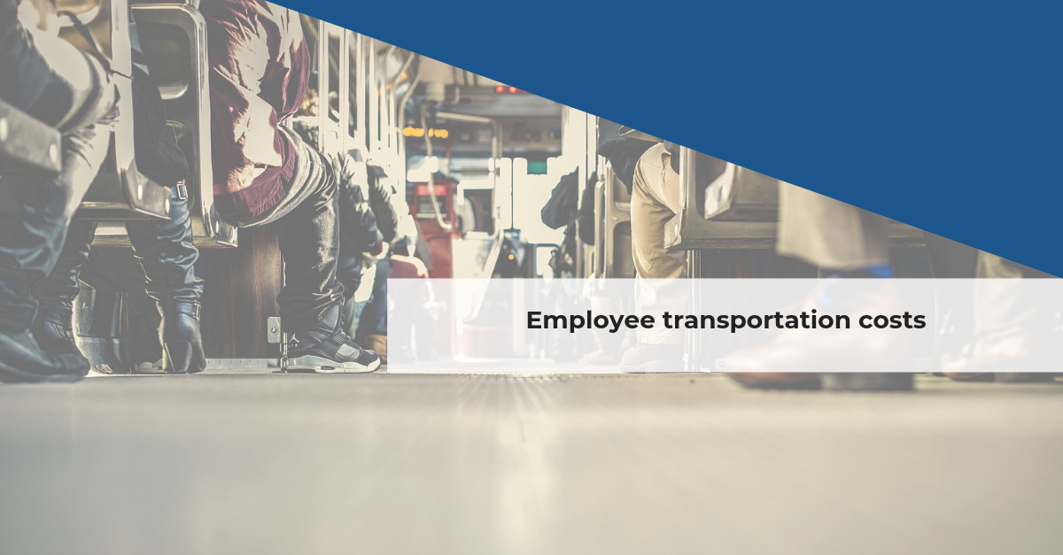 Confida news | Employee transportation costs