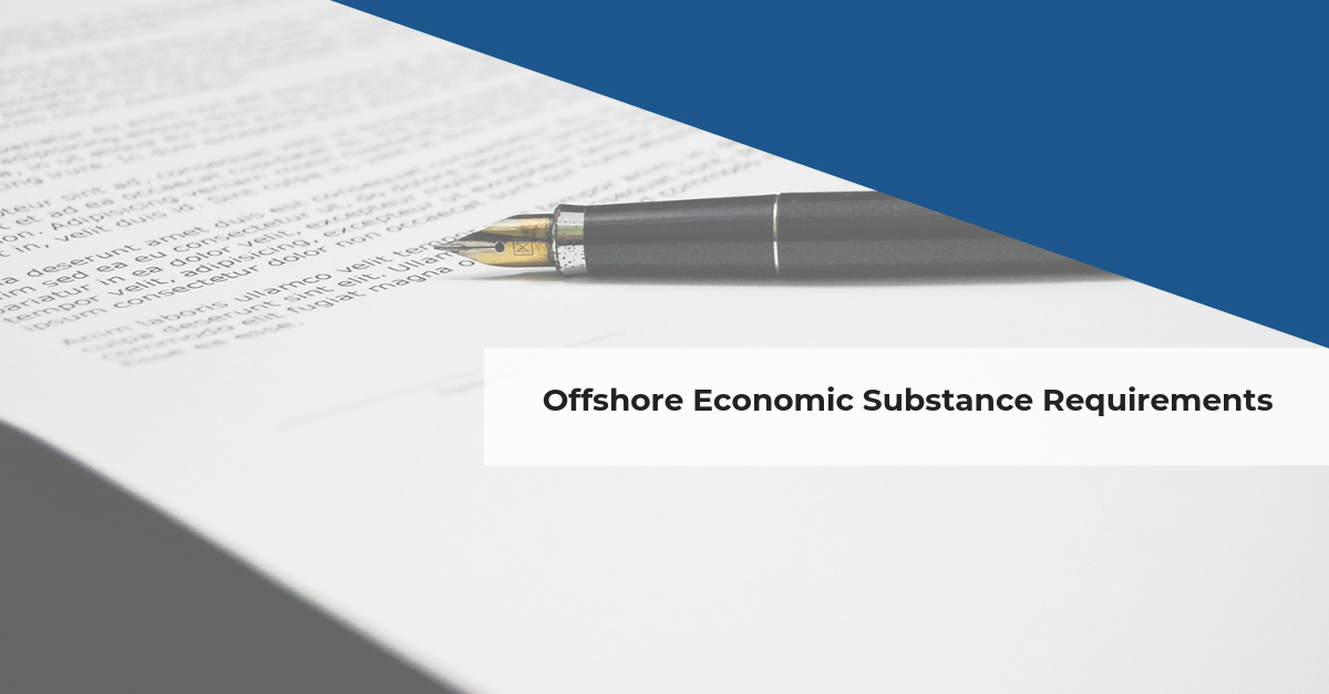 Confida News | Offshore Economic Substance Requirements