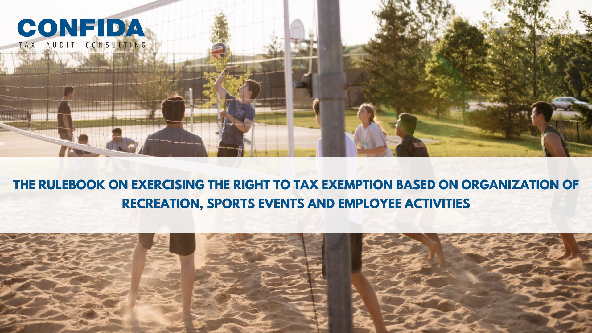 Recreation, sports events and employee activities