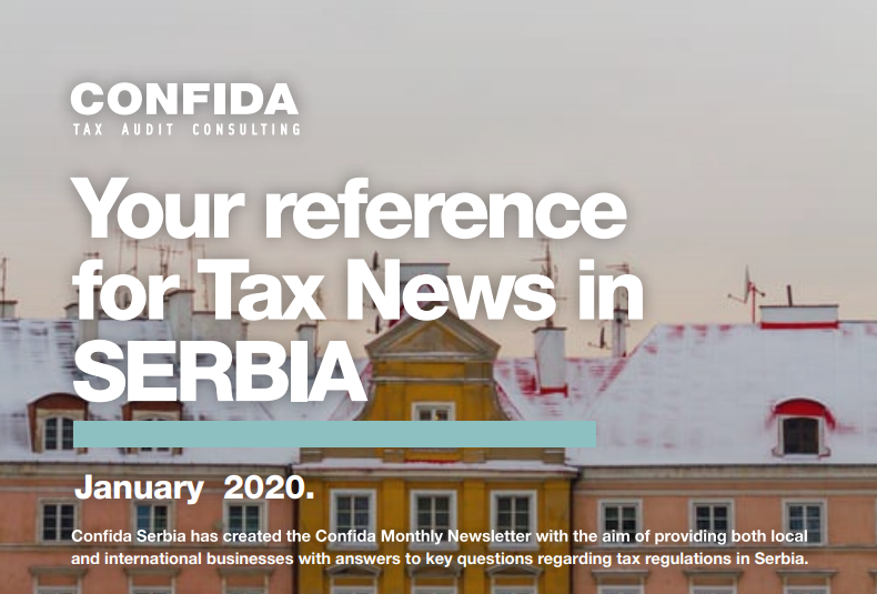 January 2020: Your reference for Tax News in Serbia