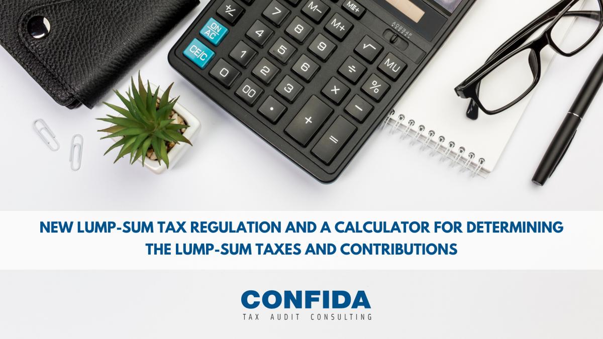 lump-sum tax regulation