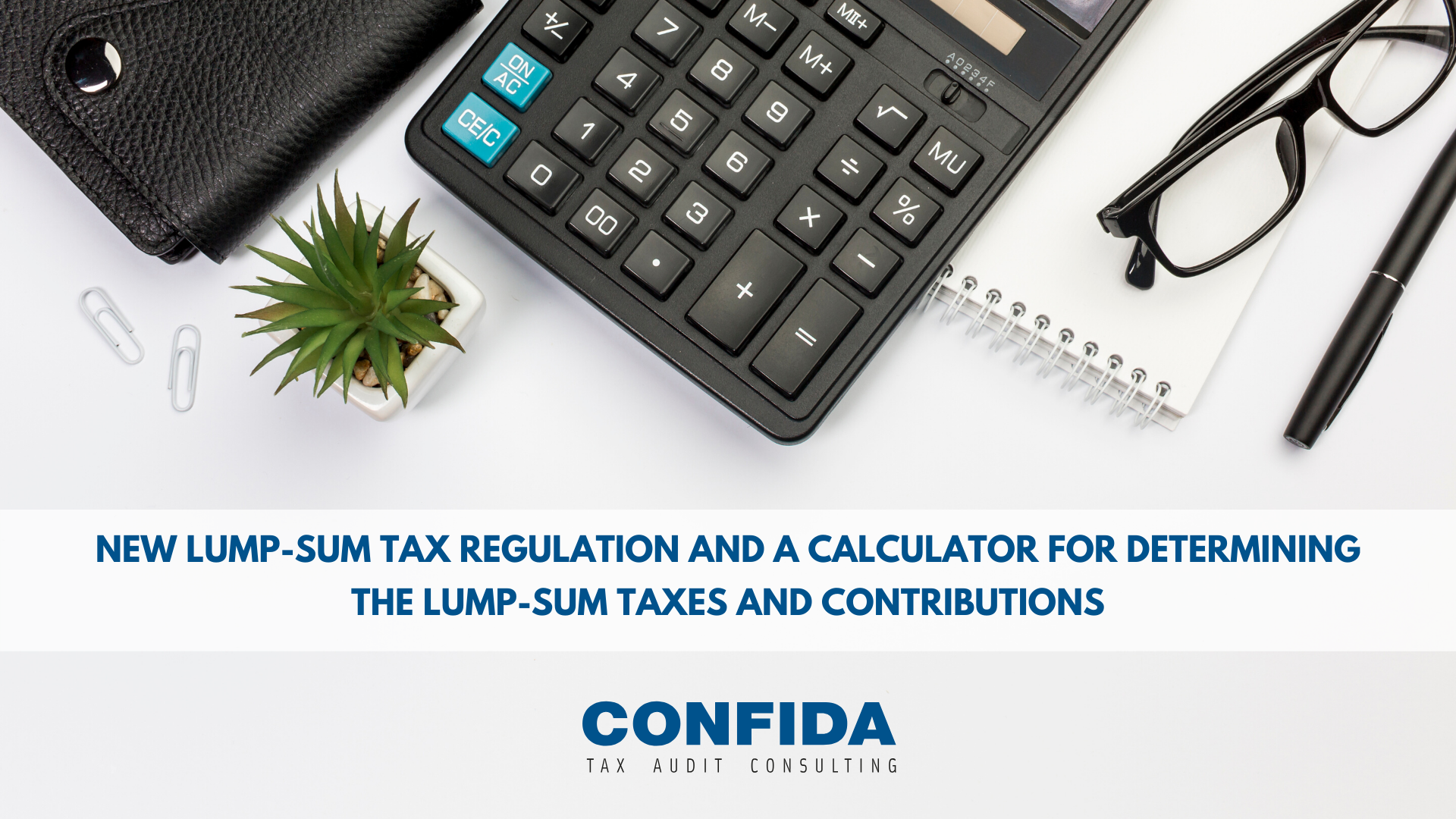 New lump-sum tax regulation and a calculator for determining the lump-sum taxes and contributions