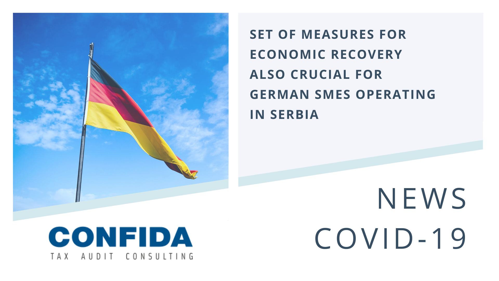 Set of Measures for Economic Recovery also Crucial for German SMEs Operating in Serbia