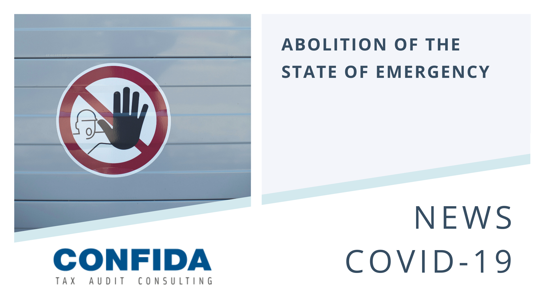 Decision on the Abolition of the State of Emergency due to COVID-19