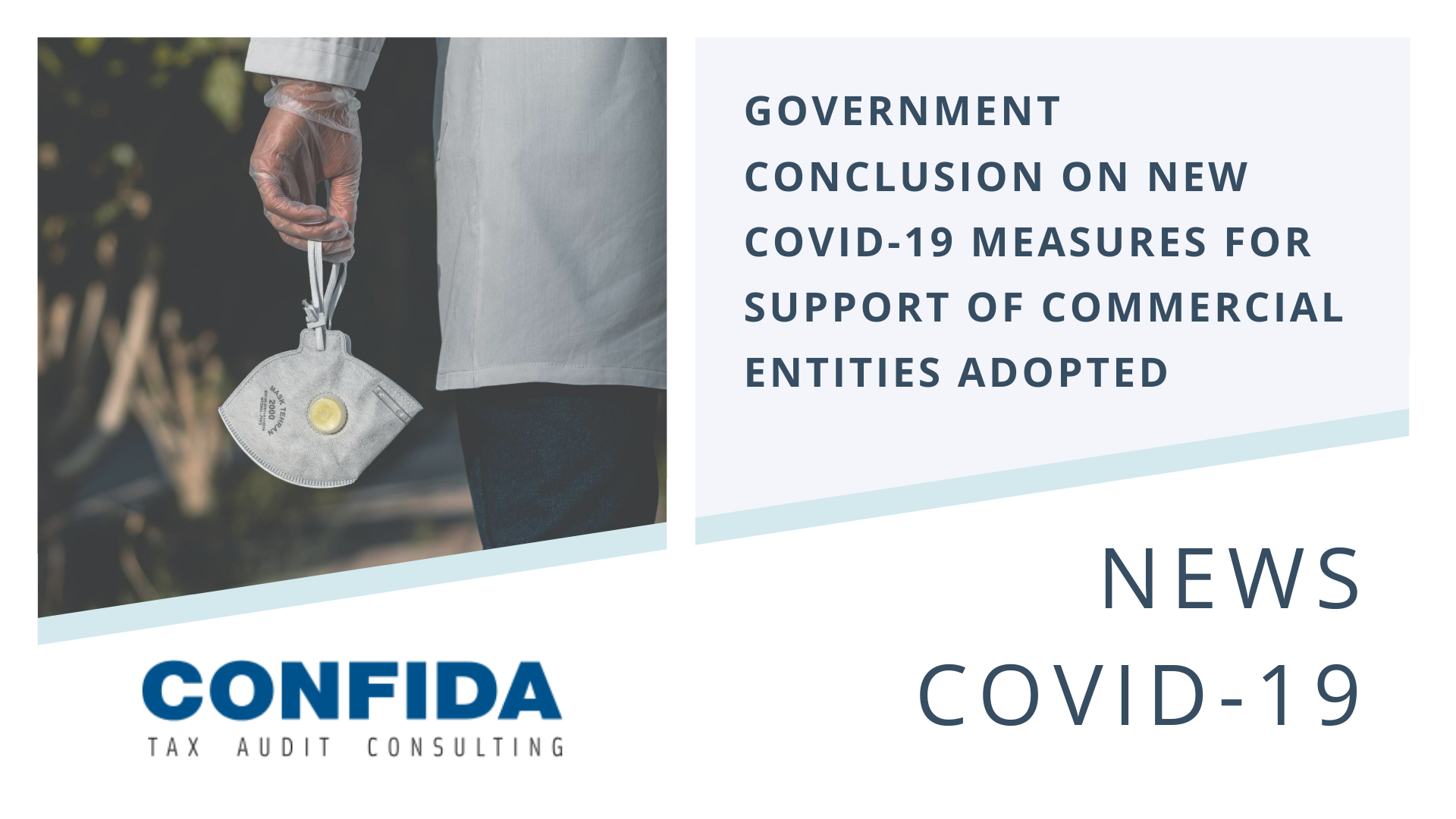 Government Conclusion on New COVID-19 Measures for support of Commercial Entities Adopted
