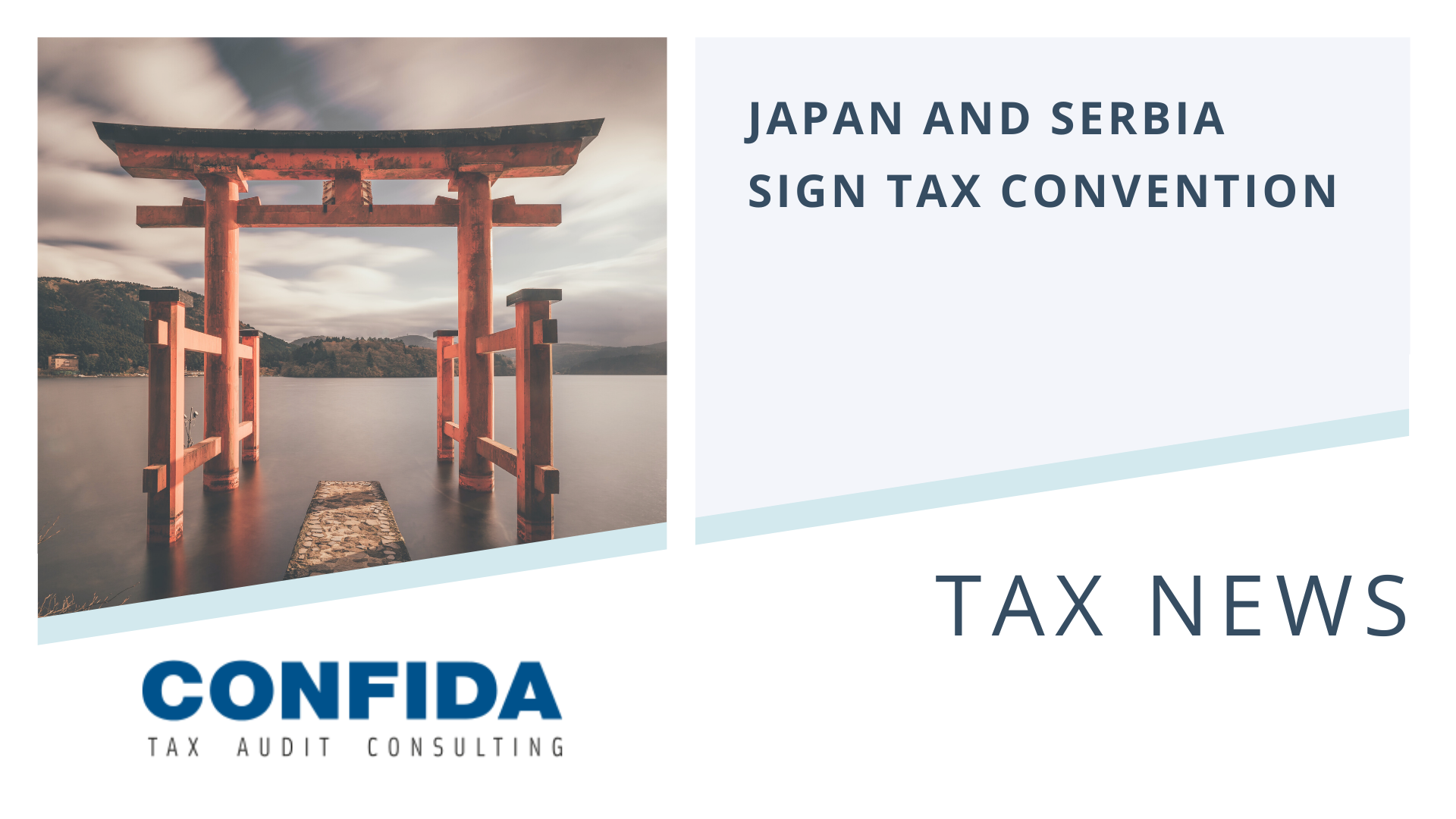 Japan and Serbia Sign Tax Convention