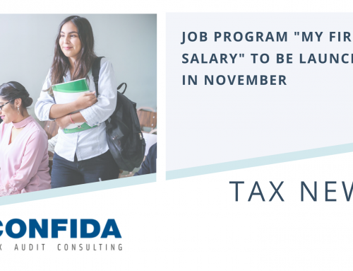 """Job Program """"My First Salary"""" to be Launched in November"""