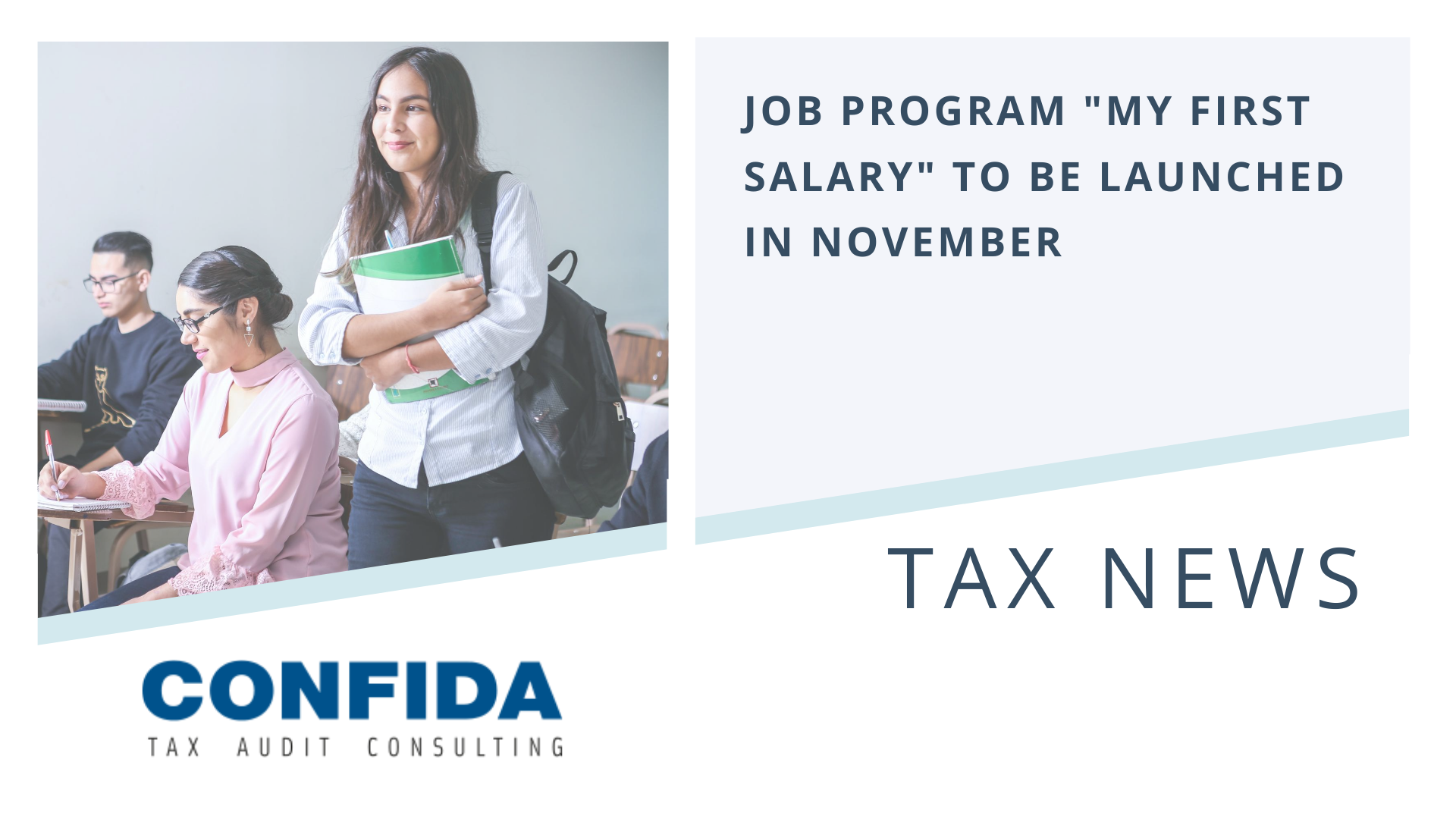"Job Program ""My First Salary"" to be Launched in November"