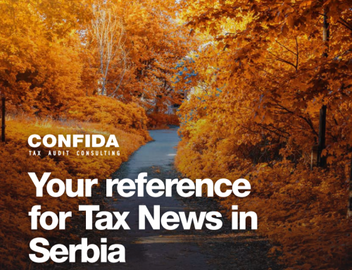 September 2020: Your reference for Tax News in Serbia