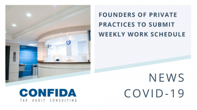 Founders of Private Practices to Submit Weekly Work Schedule