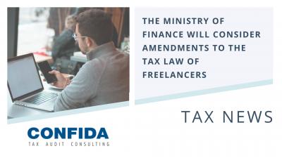 amendments to the Tax Law of Freelancers