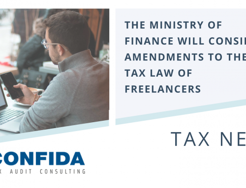 The Ministry of Finance will consider amendments to the Tax Law of Freelancers