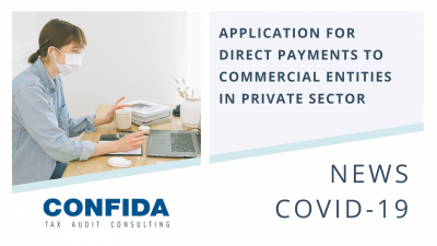 Application for Direct Payments to Commercial Entities in Private Sector
