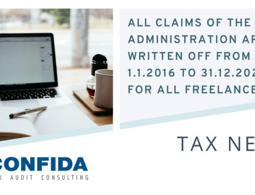 All claims of the Tax Administration are written off from January 1, 2016, until the end of 2021 for all freelancers who earned up to 64,000 dinars or 540 euros per month.