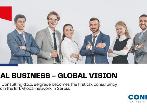 LOCAL BUSINESS – GLOBAL VISION – Confida Serbia joins ETL Global!