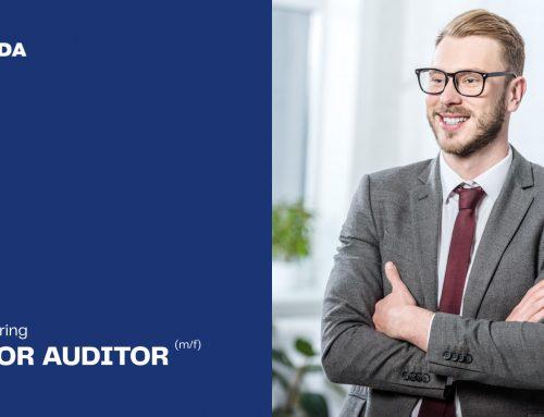 OPEN POSITION – Junior Auditor